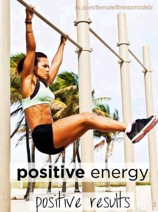 Positive energy, positive results #Inspiration #Training #Motivation #run #fitness {PilotingPaperAirplanes.com}