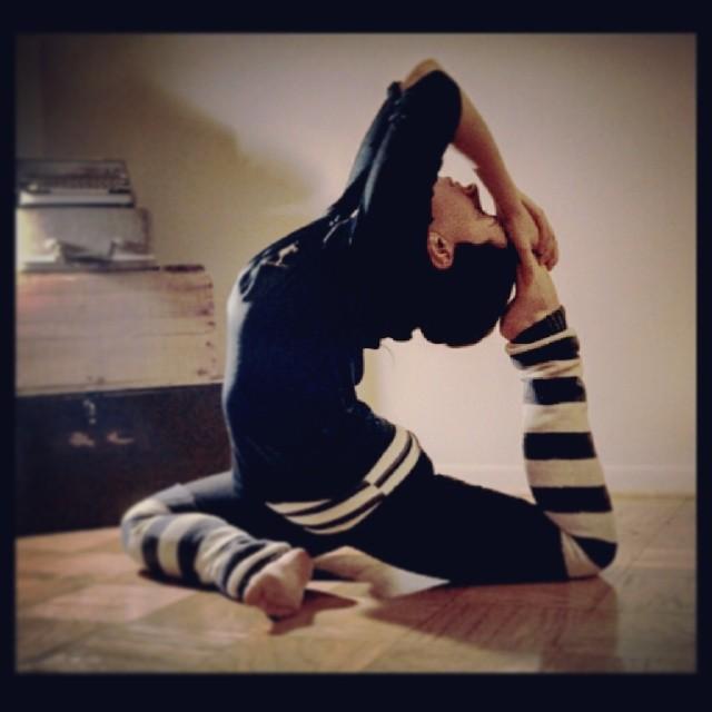 yoga {PilotingPaperAirplanes.com}