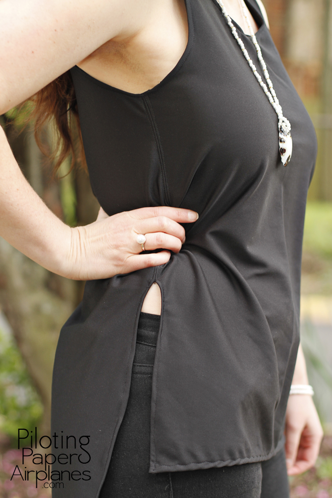 Breezy black top {PilotingPaperAirplanes} style, fashion, outfit