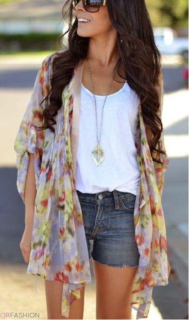 Favorite Spring Fashion Trends - Kimono
