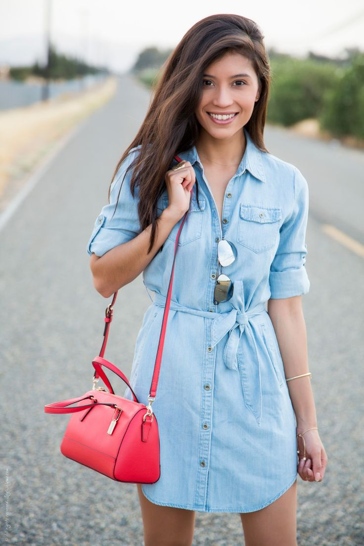 Favorite Spring Fashion Trends - Shirt Dress