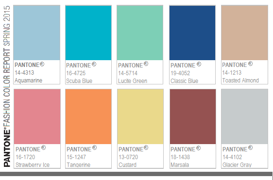 Pantone color spring fashion trends {PilotingPaperAirplanes.com}