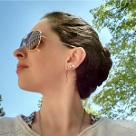 Braids shades and sunshine {PilotingPaperAirplanes.com} fresh air, yoga, fashion, fitness