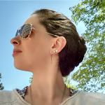 Braids shades and sunshine {PilotingPaperAirplanes.com} fresh air, yoga, fashion, fitness